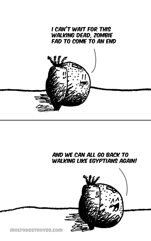 Go Back comic strip