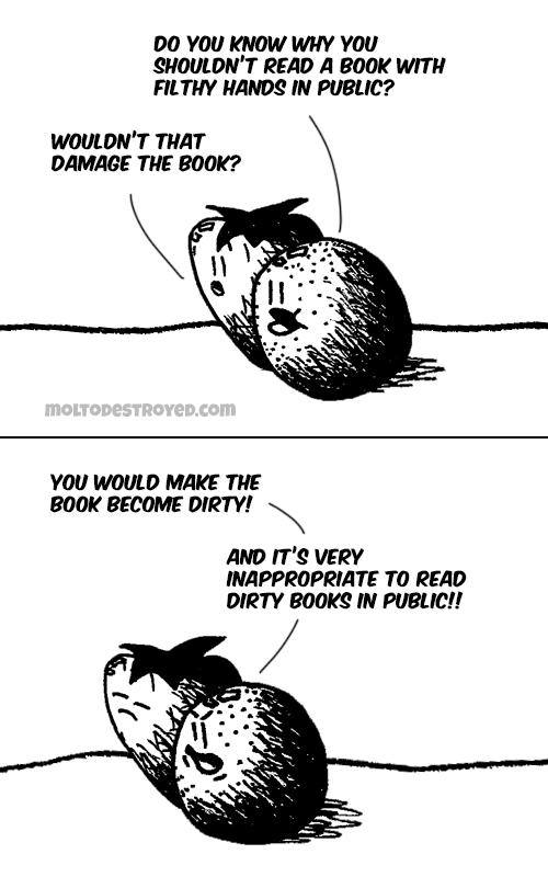 Inappropriate comic strip