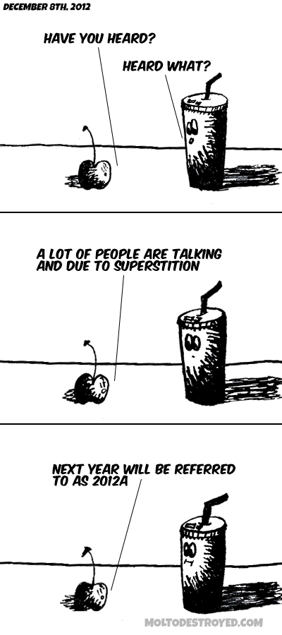 Old Version of the comic strip Of People